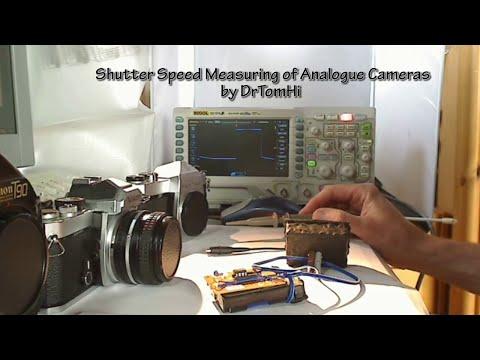 Shutter Speed Measuring of Analogue Film Cameras