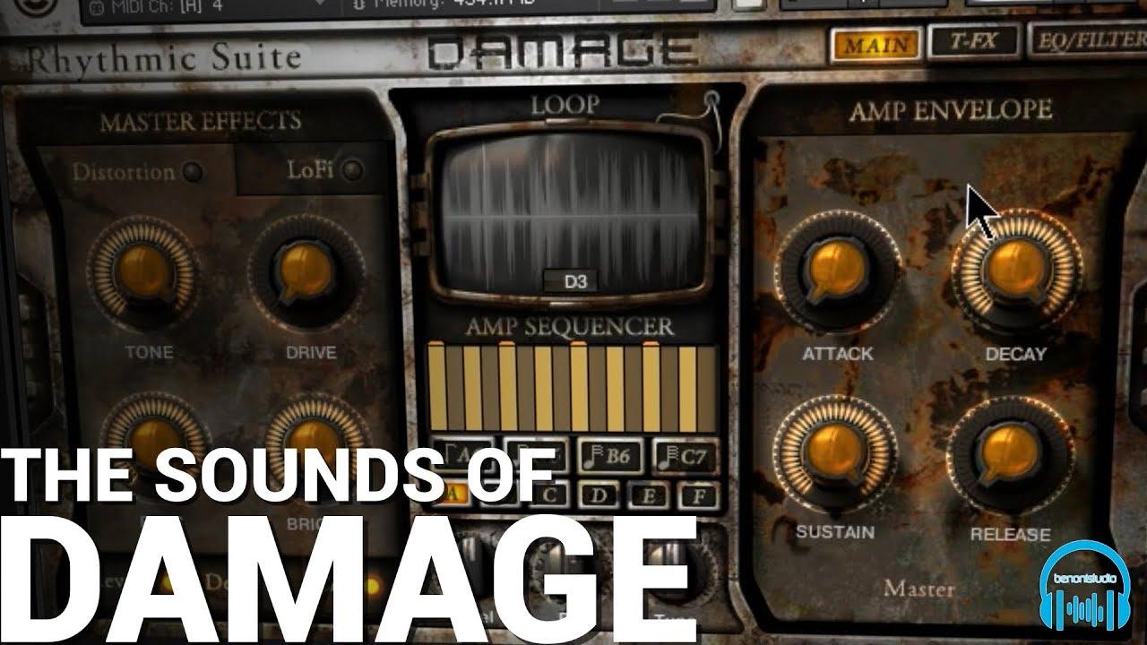 Heavyocity DAMAGE - The Definitive Guide - benonistudio