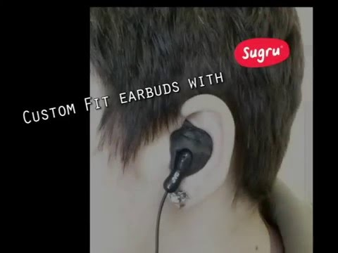 Custom Earbuds With Sugru