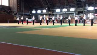 Massachusetts Maritime Academy Regimental Drill Team's Exhibition Drill Platoon
