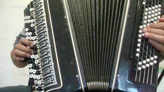 Су буйлап татарская народная   на баяне видео урок часть 1
