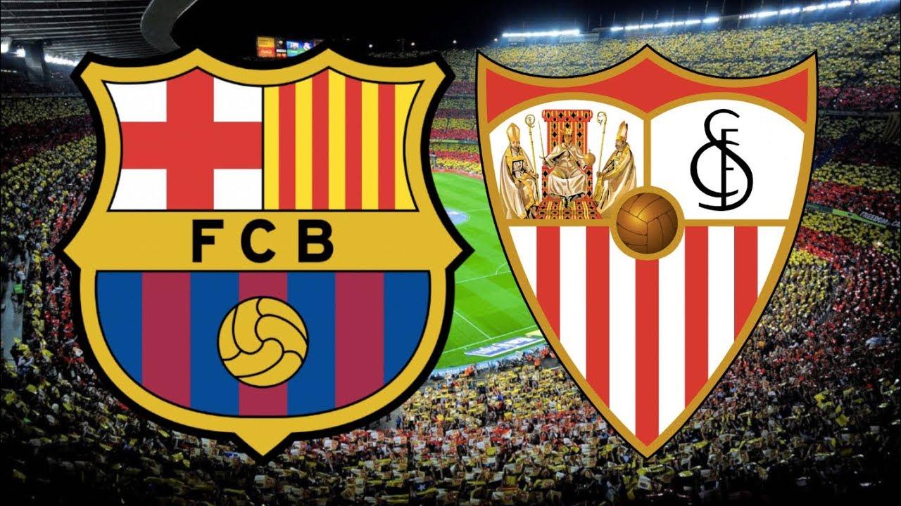 Kết quả hình ảnh cho Barcelona vs Sevilla