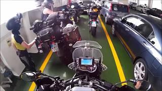 8 Länder Motorradreise Juli 2016 Teil 2/6 Slowenien - Kroatien ( Pula)