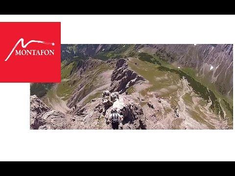 Klettersteig Saulakopf : Klettern in Österreich klettersteig saulakopf montafon youtube