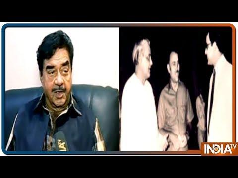 Bollywood actor and Congress leader Shatrughan Sinha remembers Arun Jaitley