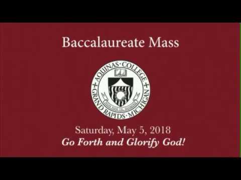 Baccalaureate Mass 2018