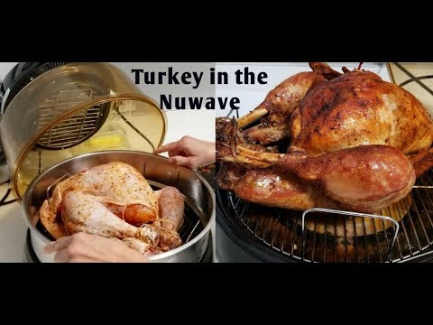 How to Bake a Turkey in the Nuwave with Mama Y