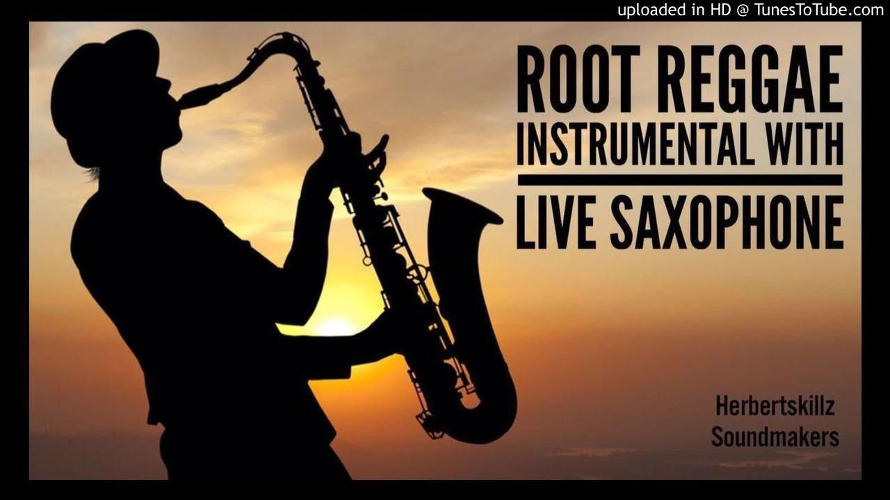 Romantic Root Reggae instrumental with Live Saxophone
