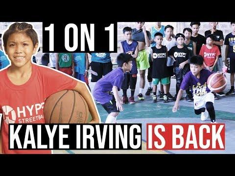 1 on 1 - Kalye Irving dominates Hype Rookie