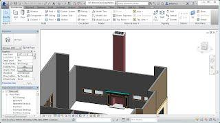 Jensen's Residential Design Using Revit 2014 - Ch05-4d Fireplace