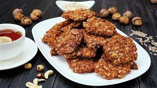 Овсяное печенье с орехами - Рецепты от Со Вкусом