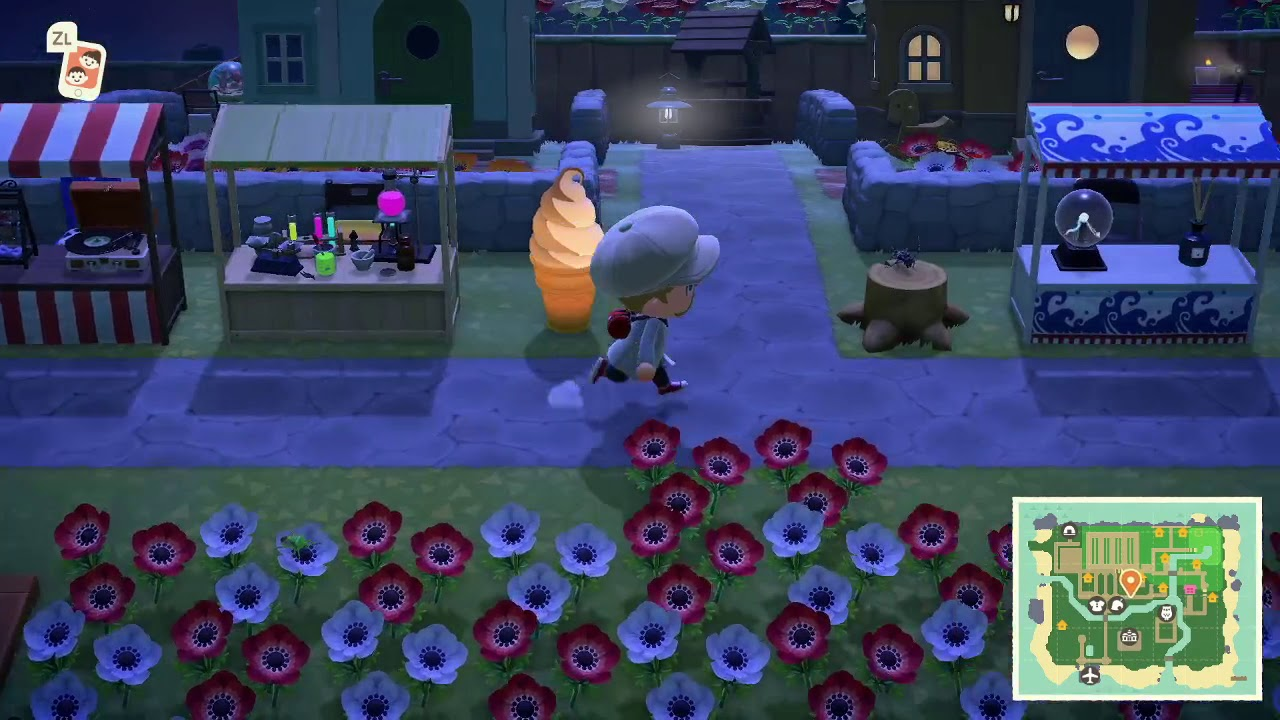 A Night Tour Of My Island Town In Animal Crossing: New