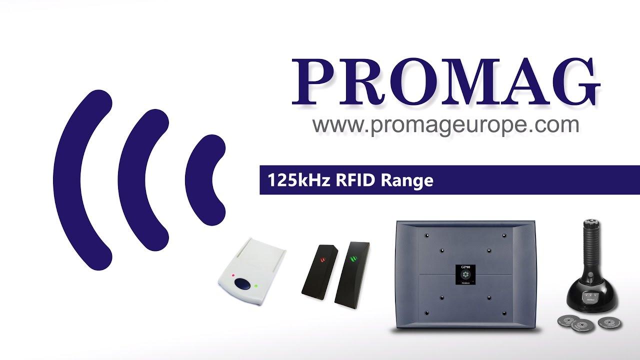 Promag 125kHz RFID Reader Range