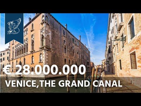 Historic Venice estate for sale on the Grand Canal | Veneto, Italy - Ref. 1343