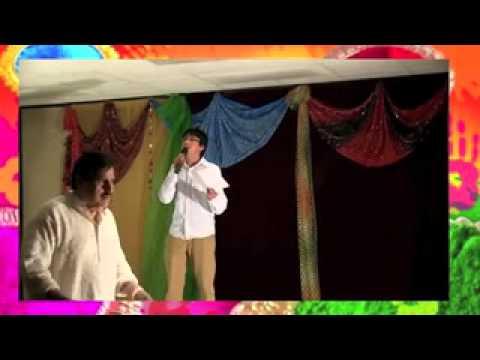 Dagabaaz re karaoke by Shiva at HOLI party