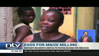 Busia residents embrace barter trade as Covid-19 disrupts economy