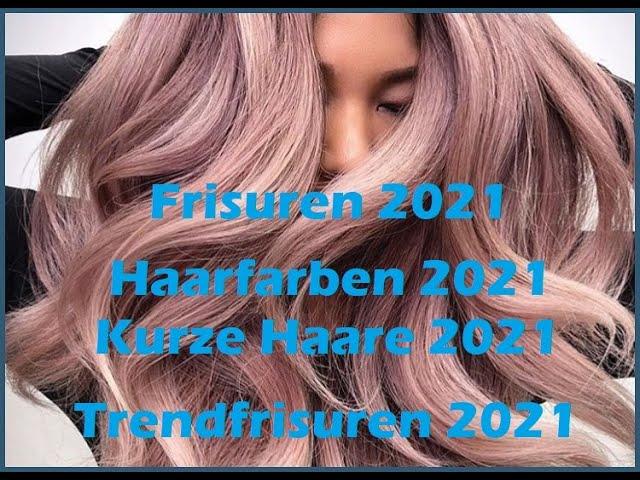 Haarfarben Trends Frisuren 2021 Frauen Kurz ...