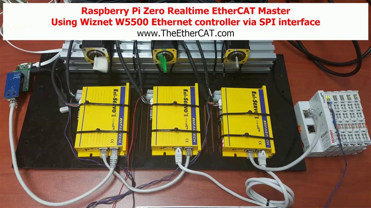 Raspberry Pi Zero + Xenomai + Realtime EtherCAT Master -  http://www simplerobot net
