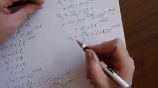 Расчет переходного процесса в цепи с индуктивностью.(Расчет цепи первого порядка с индуктивностью классическим методом. Другие видео можно посмотреть на easy-physic.ru., 2014-03-19T17:28:39.000Z)