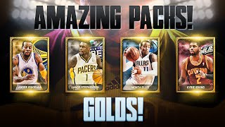 NBA 2K15 My Team Pack Opening - My BEST Pack Opening! AMAZING Golds! PS4