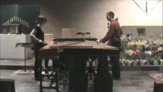 Tango Suite III: Allegro on marimba- Piazzolla
