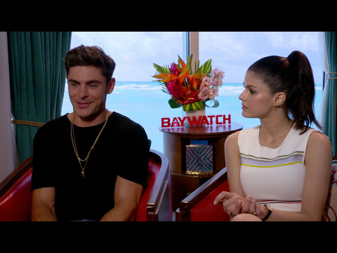 Zac Efron & Alexandra Daddario New Baywatch Full Interview