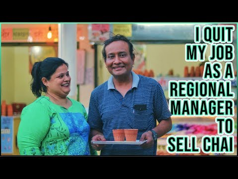HE GAVE UP his 28 YEARS in PHARMACEUTICALS to SELL TEA   Ludhiana   Street Food