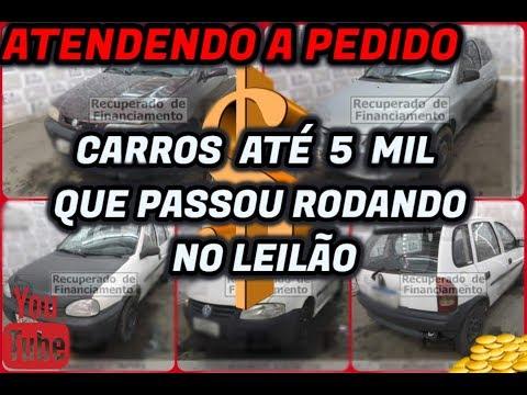 LEILÃO COM CARROS ABAIXO DE 10 MIL from YouTube · Duration:  3 minutes 52 seconds