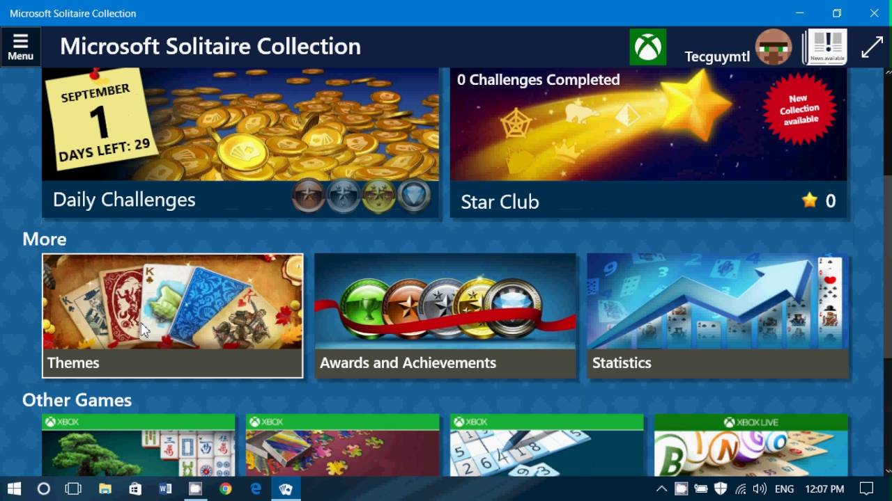 microsoft solitaire collection windows 8 update
