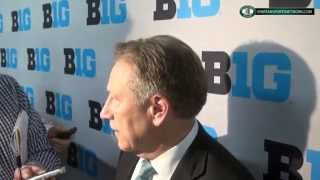 Tom Izzo gives his thoughts on losing to Wisconsin, getting a seven seed and the NCAA tournament