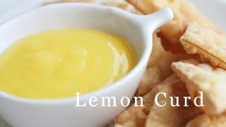 Easy Lemon Curd Recipe 레몬 커드 만들기