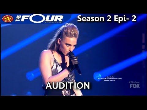 """Stelle Amor """"Mad World """" IT'S DIFFERENT Audition The Four Season 2 S2E2"""