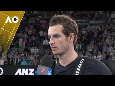 Andy Murray on court interview (2R) | Australian Open 2017