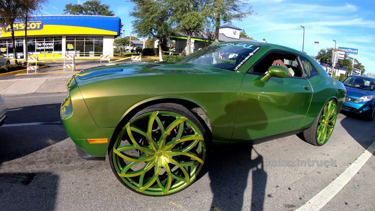 Riding Big Car Show Orlando Florida Classic 2019: Big Rims, Donks, Amazing Cars