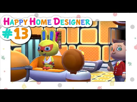 Animal Crossing: Happy Home Designer :: # 13 - Mission Control!