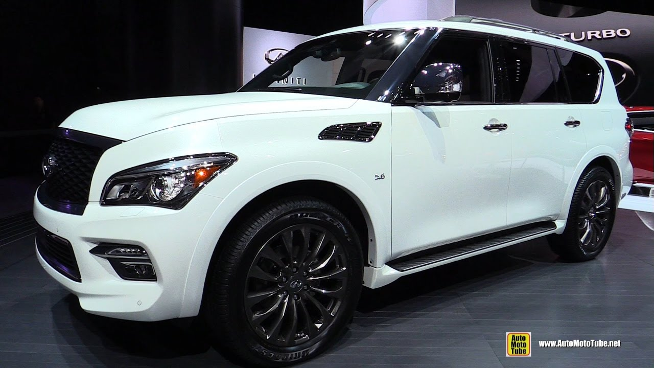 2017 infiniti qx80 limited exterior and interior walkaround 2016 la auto show youtube. Black Bedroom Furniture Sets. Home Design Ideas