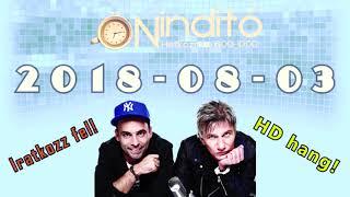 Music FM Önindító HD hang 2018 08 03 (Péntek)