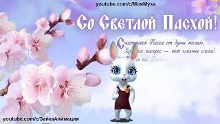 ZOOBE зайка Самое Весёлое Поздравление Любимой Бабушке со Светлой Пасхой !