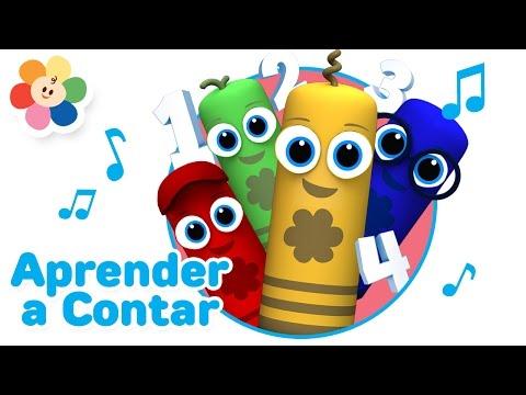 Los Numeros Para Bebes | Canciones Infantiles De Números Para Niños | Videos Educativos | BabyFirst