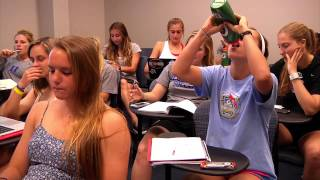 Documentary of the 2014-15 Duke Women's Soccer team typical athlete...