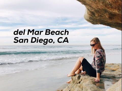 Сан Диего, Калифорния, Собачий пляж/ Dog Beach del Mar, San Diego, California