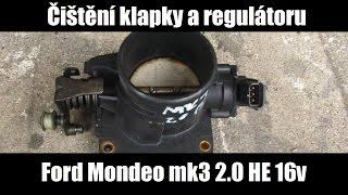 Čištění škrtící klapky a regulátoru volnoběhu - Mondeo MK3 2.0 HE 16v