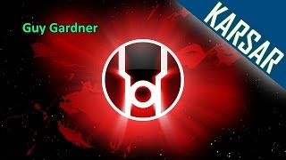 Guy Gardner Red Lantern Dcuo