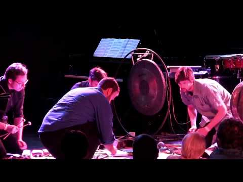 Iktus Percussion performs John Cage's Double Music at Le Poisson Rouge