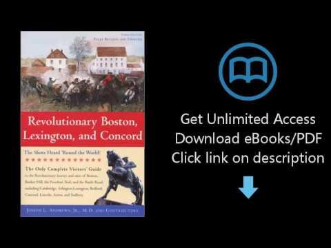 Download Revolutionary Boston, Lexington, and Concord: The Shots Heard 'Round the World! (Bo [P.D.F]