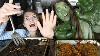 Big Hands Cooking Challenge! / JustJordan33