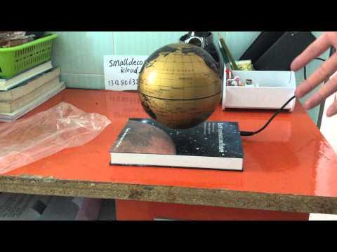 Magnetic maglev levitation book style base platform 6inch 4inch globe holder stand display home deco