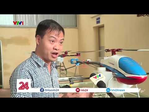 """đầu tư giá trị - 0 - Video: """"Đã mắt"""" xem máy bay không người lái phun thuốc trừ sâu tại Hà Tĩnh"""