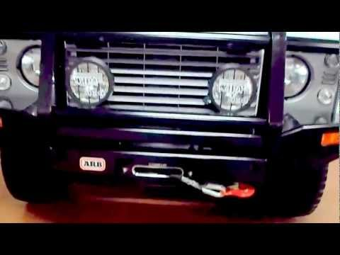 LAND ROVER DEFENDER AUSTRALIAN ARB BULL BAR AND WINCH BUMPER