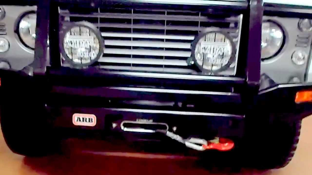 Land Rover Defender Australian Arb Bull Bar And Winch